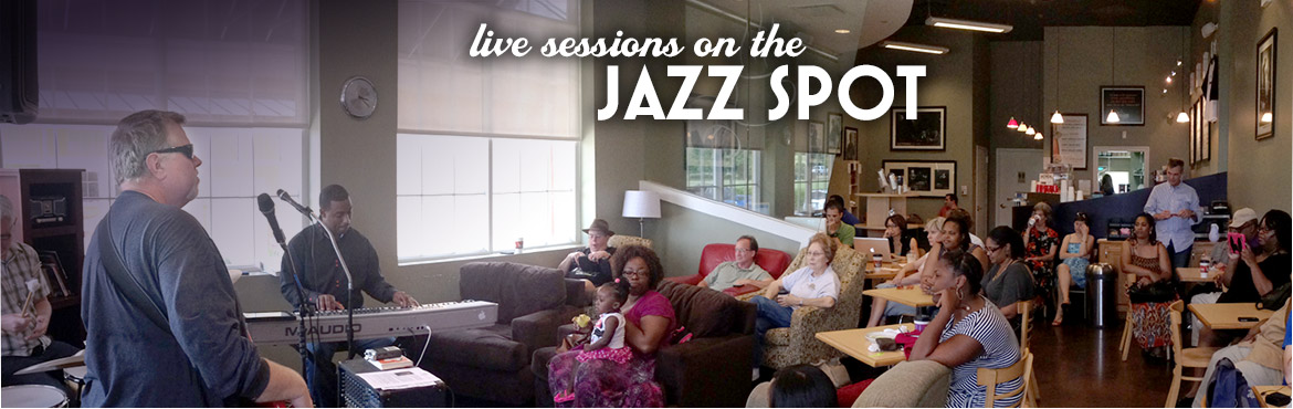 Live sessions on the Jazz Spot at Fusion Coffeehouse